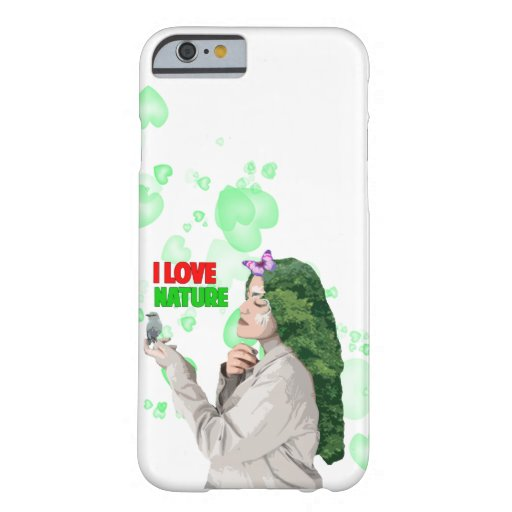 i love nature barely there iPhone 6 case