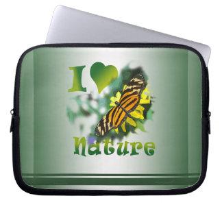 I Love Nature Laptop Sleeve