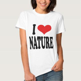 I Love Nature Tee Shirt