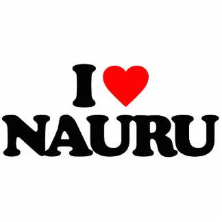 I LOVE NAURU PHOTO SCULPTURES