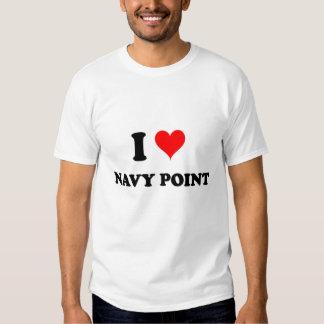 I Love Navy Point Florida Tees
