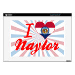 I Love Naylor, Missouri Decal For Laptop