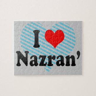 I Love Nazran', Russia Puzzle