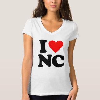 I LOVE NC TEE SHIRTS