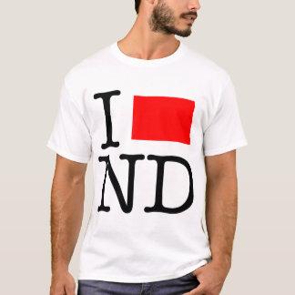 I Love ND North Dakota T-Shirt