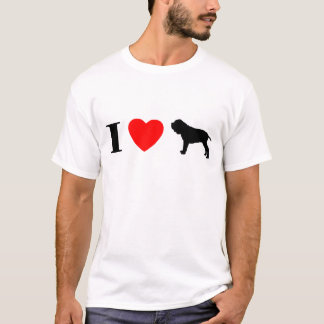 I Love Neapolitan Mastiffs T-Shirt