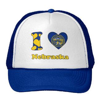 I love Nebraska Trucker Hat