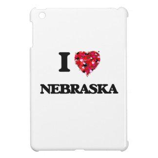 I Love Nebraska Cover For The iPad Mini