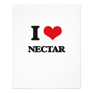 "I Love Nectar 4.5"" X 5.6"" Flyer"