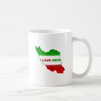 I Love Neda Coffee Mug