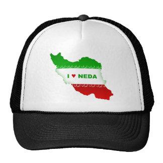 I Love Neda Trucker Hat