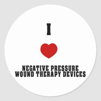 I Love Negative Pressure Wound Therapy Devices Stickers
