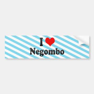 I Love Negombo, Sri Lanka Bumper Sticker