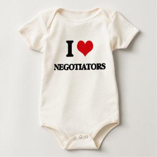 I love Negotiators Bodysuit