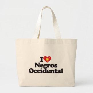I Love Negros Occidental Canvas Bag
