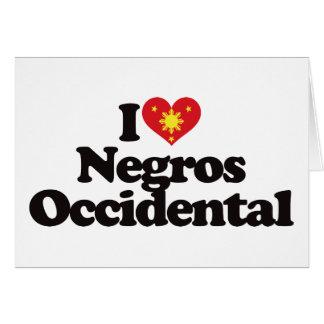 I Love Negros Occidental Card