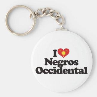 I Love Negros Occidental Keychain
