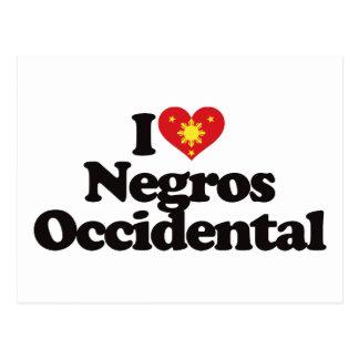 I Love Negros Occidental Postcard