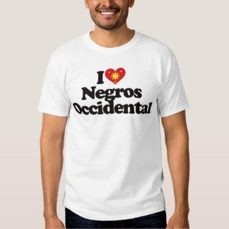 I Love Negros Occidental T-shirt