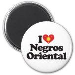 I Love Negros Oriental 2 Inch Round Magnet
