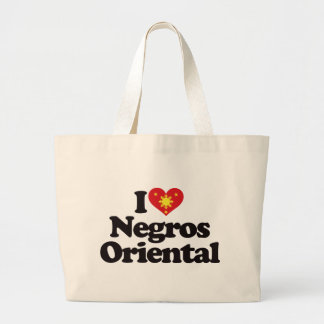 I Love Negros Oriental Tote Bags