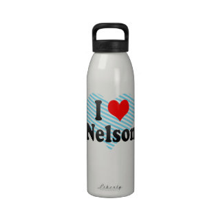 I Love Nelson, New Zealand Drinking Bottles