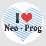 I Love Neo - Prog Sticker