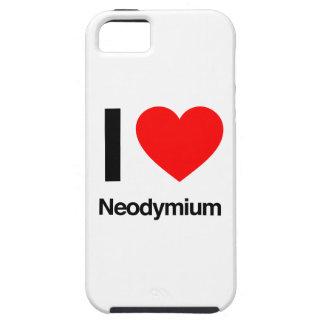 i love neodymium iPhone 5 case