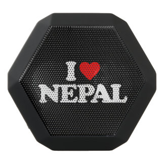 I LOVE NEPAL BLACK BLUETOOTH SPEAKER