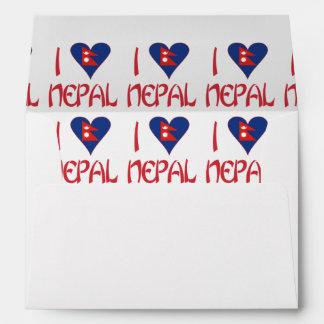 I Love Nepal Envelope