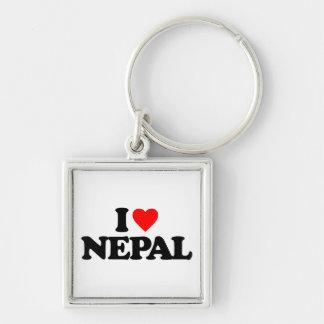 I LOVE NEPAL KEYCHAIN