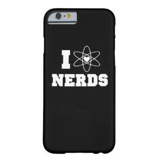 I love nerds barely there iPhone 6 case