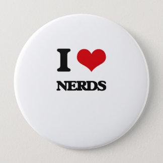 I Love Nerds Button
