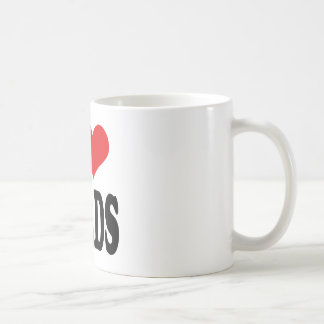 I Love Nerds Classic White Coffee Mug