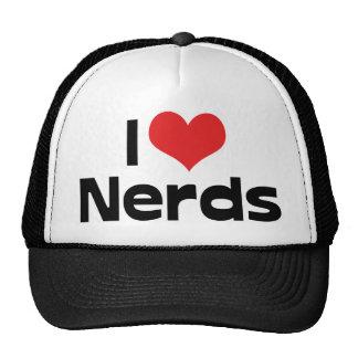 I Love Nerds Mesh Hats