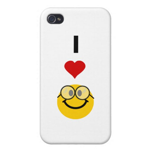 I love nerds iPhone 4/4S cover