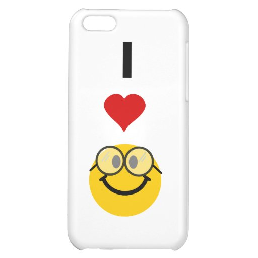 I love nerds iPhone 5C cover