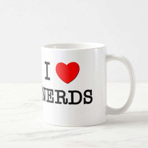 I Love Nerds Coffee Mug
