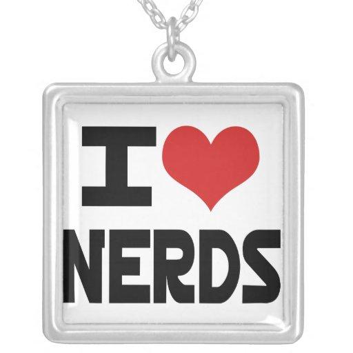 I Love Nerds Necklace