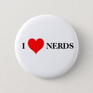 I love nerds pinback button