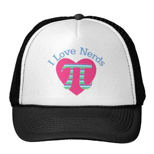 I Love Nerds Trucker Hat