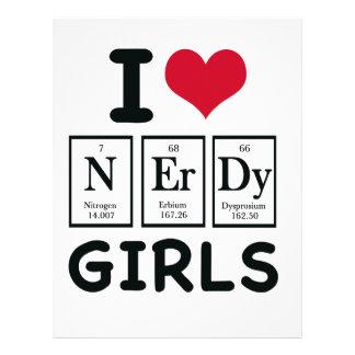 I LOVE NERDY GIRLS LETTERHEAD TEMPLATE