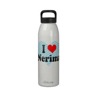 I Love Nerima, Japan. Aisuru Nerima, Japan Reusable Water Bottle