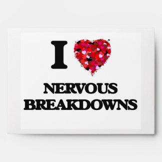 I Love Nervous Breakdowns Envelopes
