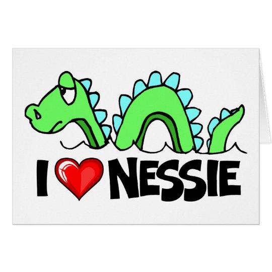 I Love Nessie Card