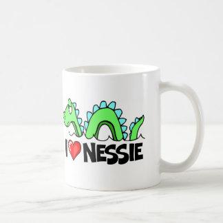I Love Nessie Coffee Mug