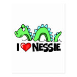 I Love Nessie Postcard