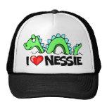 I Love Nessie Trucker Hat