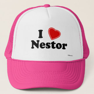 I Love Nestor Trucker Hat