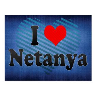 I Love Netanya, Israel Postcard